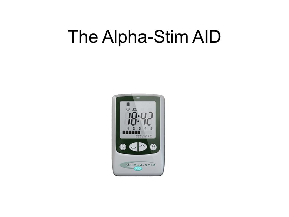 The Alpha-Stim AID