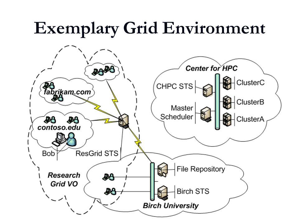5 Exemplary Grid Environment