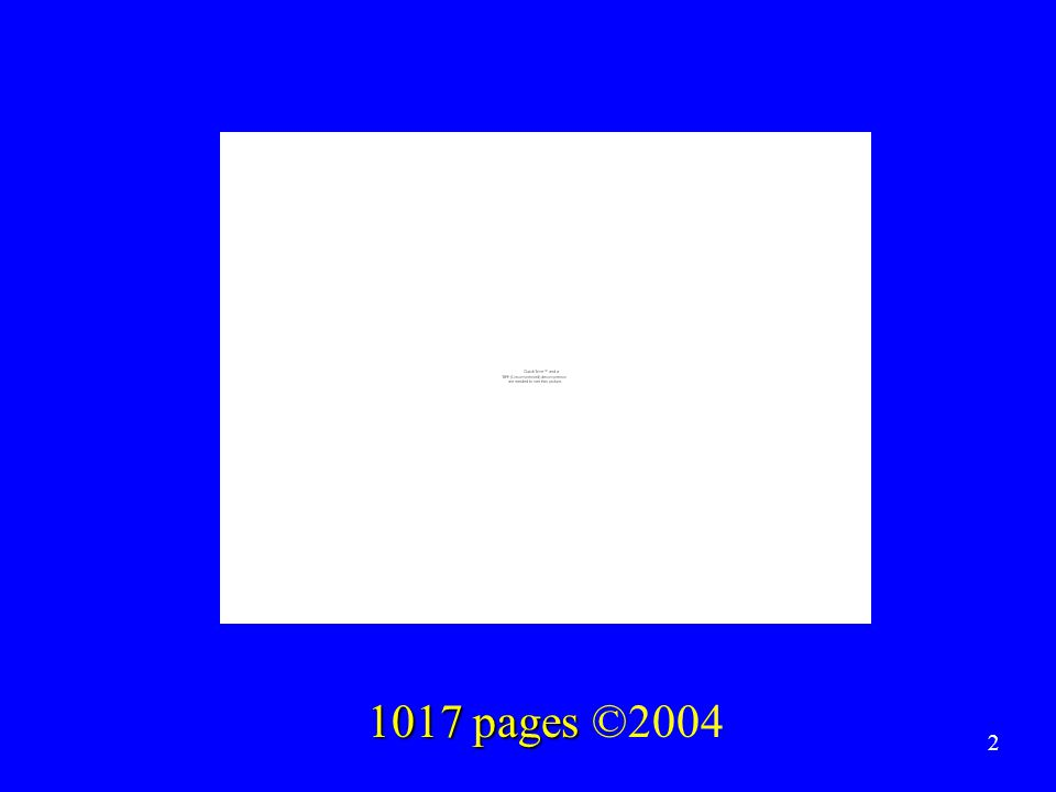 1017 pages 1017 pages ©2004 2