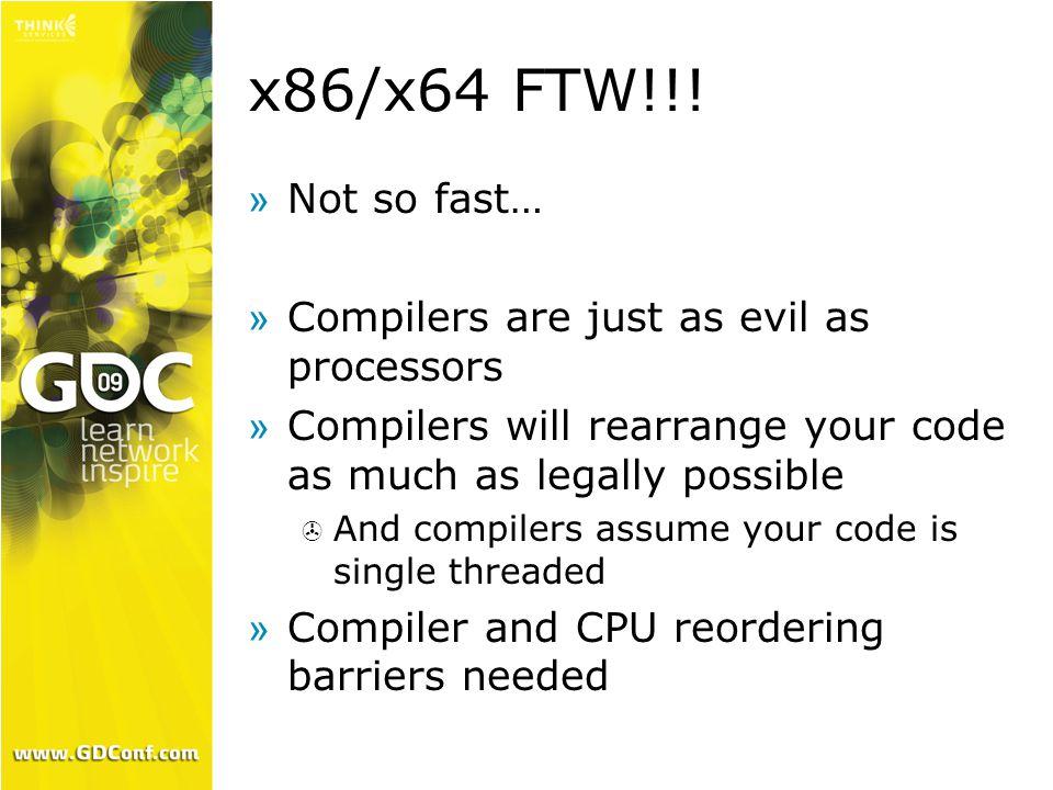 x86/x64 FTW!!.