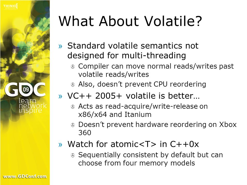 What About Volatile.