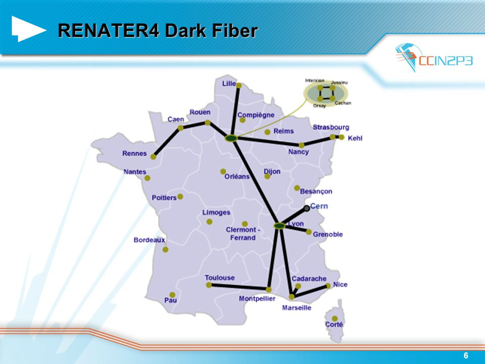 6 RENATER4 Dark Fiber