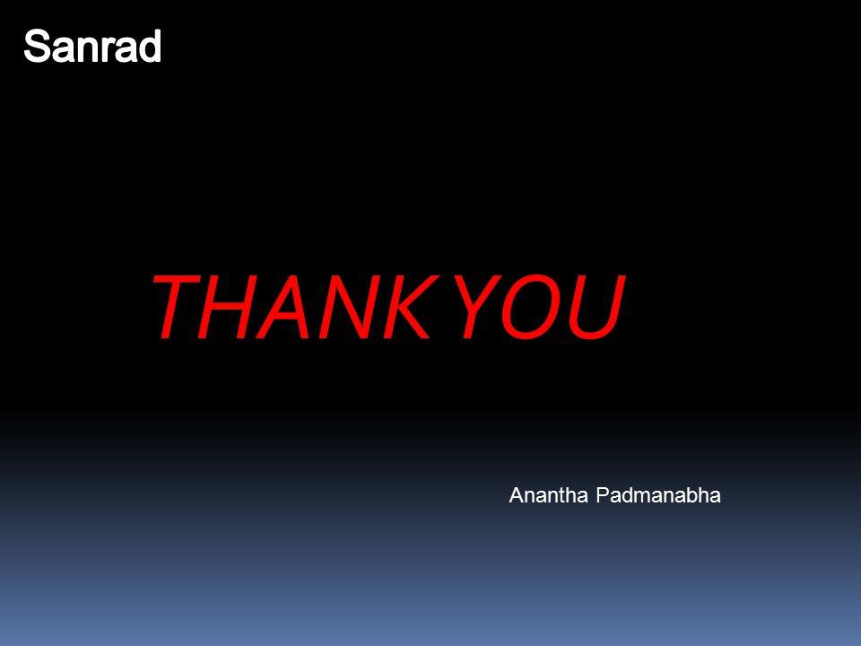 THANK YOU Anantha Padmanabha