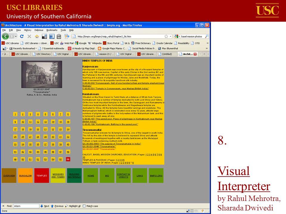 8. Visual Interpreter by Rahul Mehrotra, Sharada Dwivedi Visual Interpreter