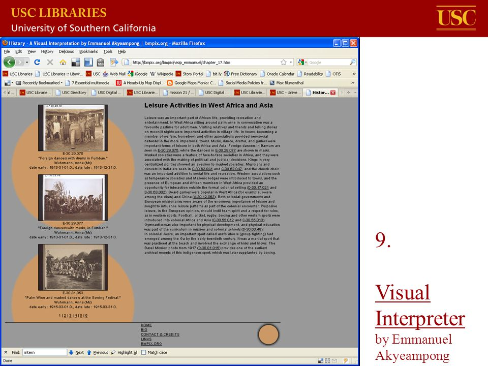 9. Visual Interpreter by Emmanuel Akyeampong Visual Interpreter