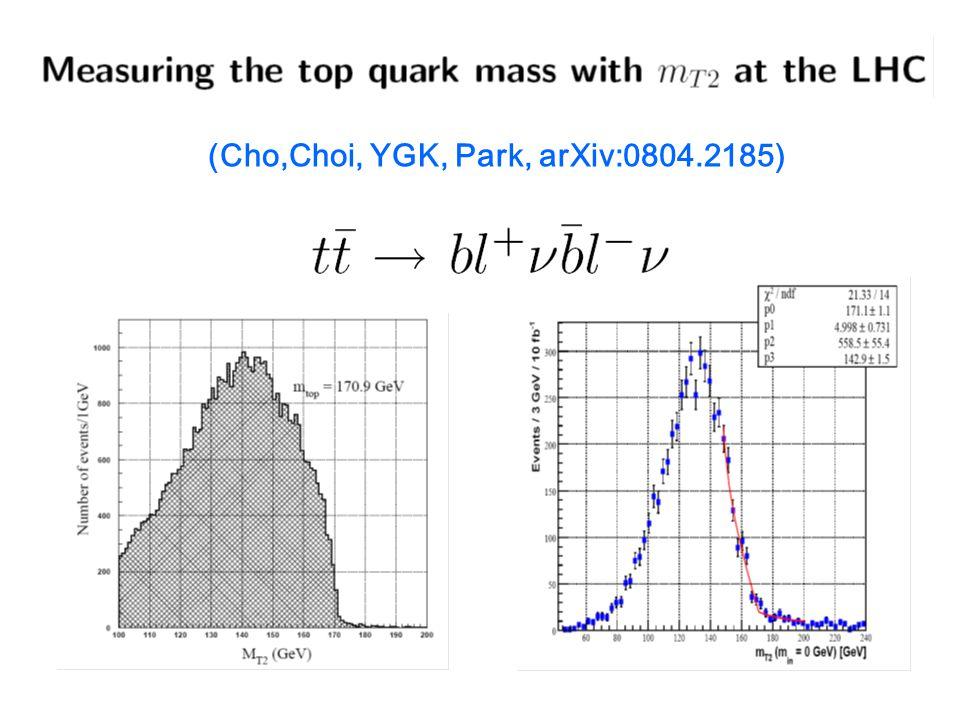 (Cho,Choi, YGK, Park, arXiv:0804.2185)