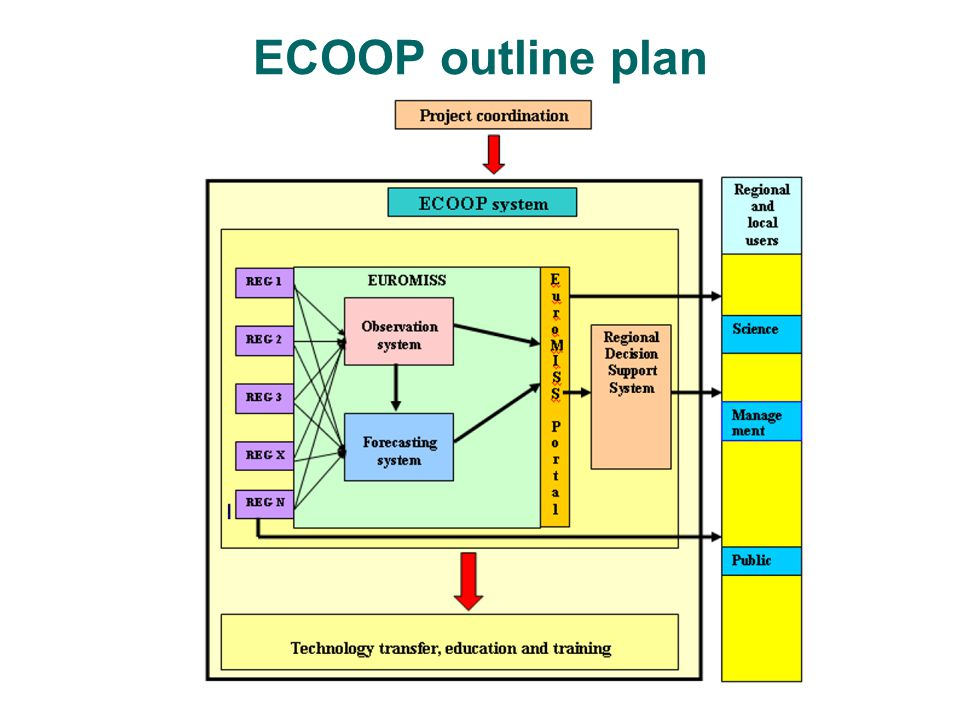 ECOOP outline plan