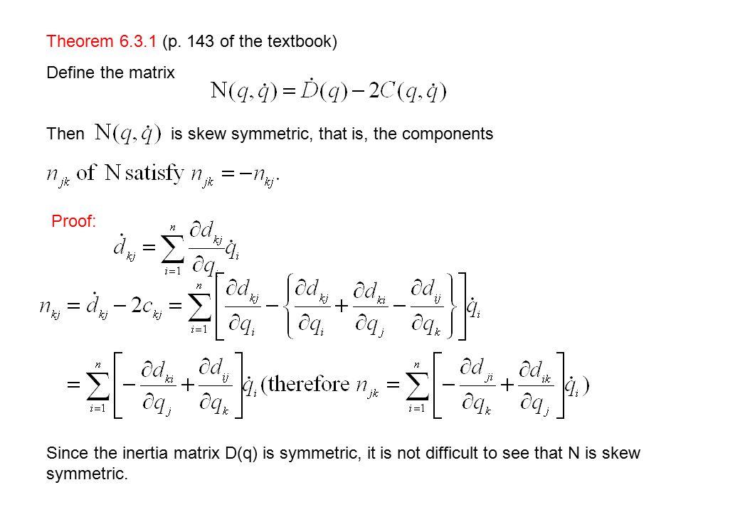Theorem 6.3.1 (p.