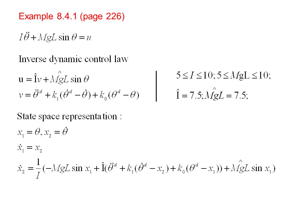 Example 8.4.1 (page 226)