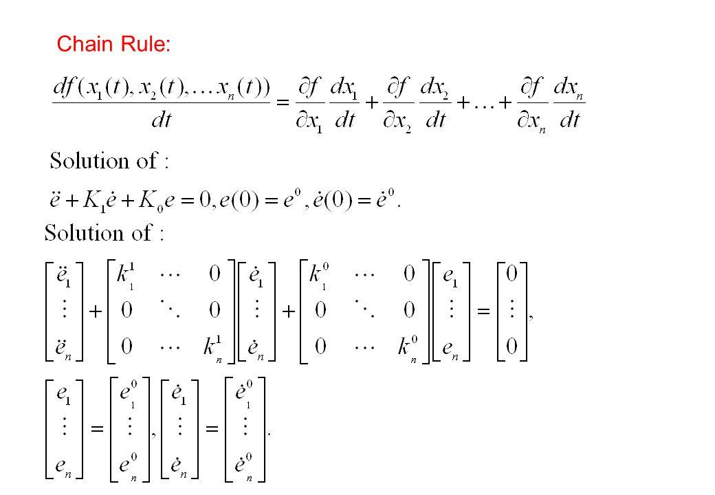 Chain Rule: