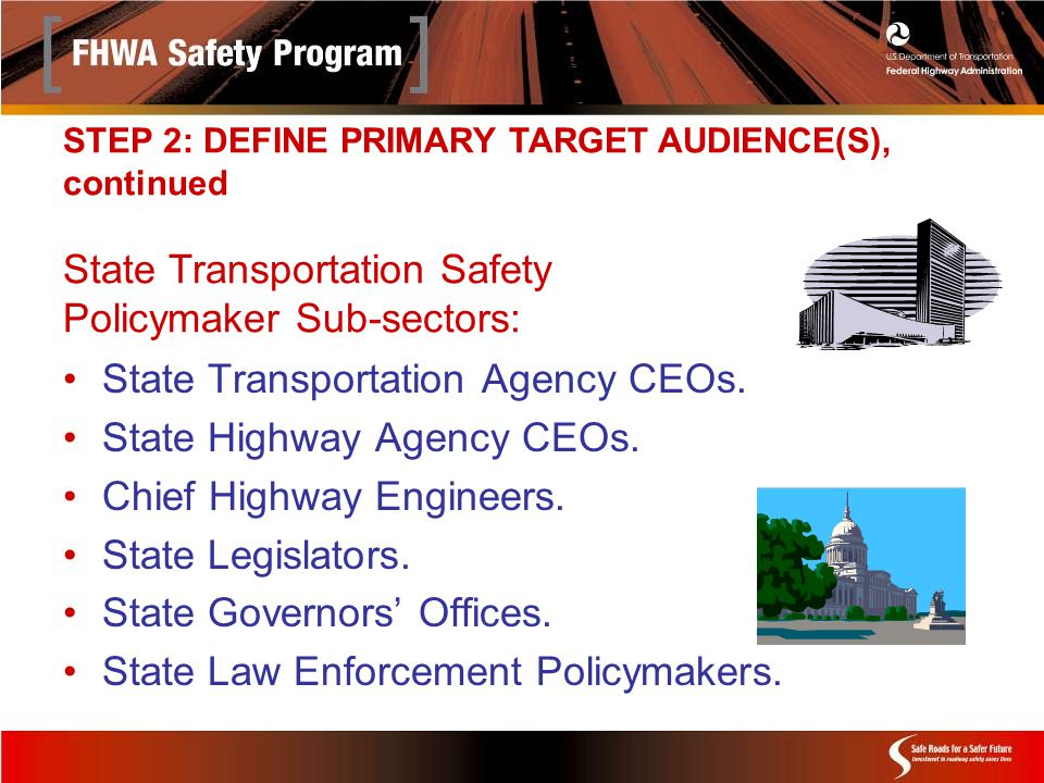 State Transportation Agency CEOs. State Highway Agency CEOs.