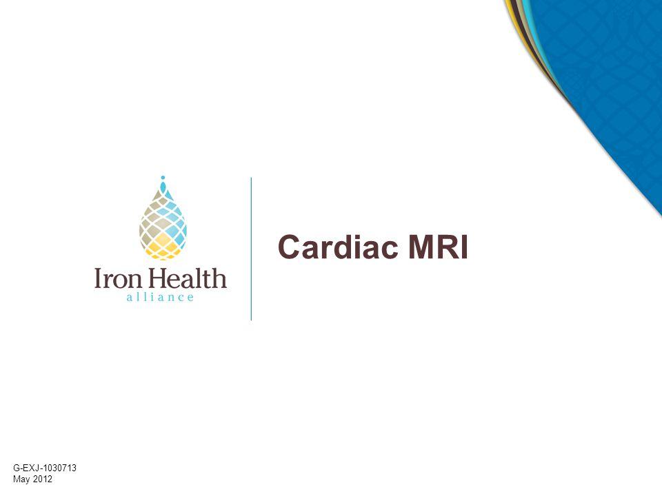 G-EXJ-1030713 May 2012 Cardiac MRI