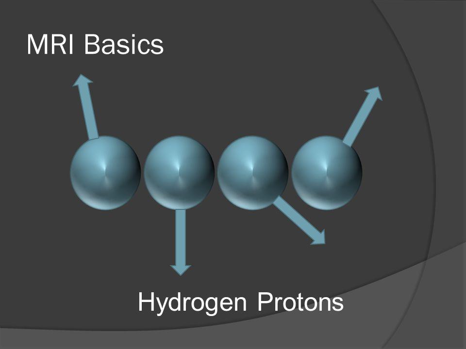 MRI Basics Hydrogen Protons