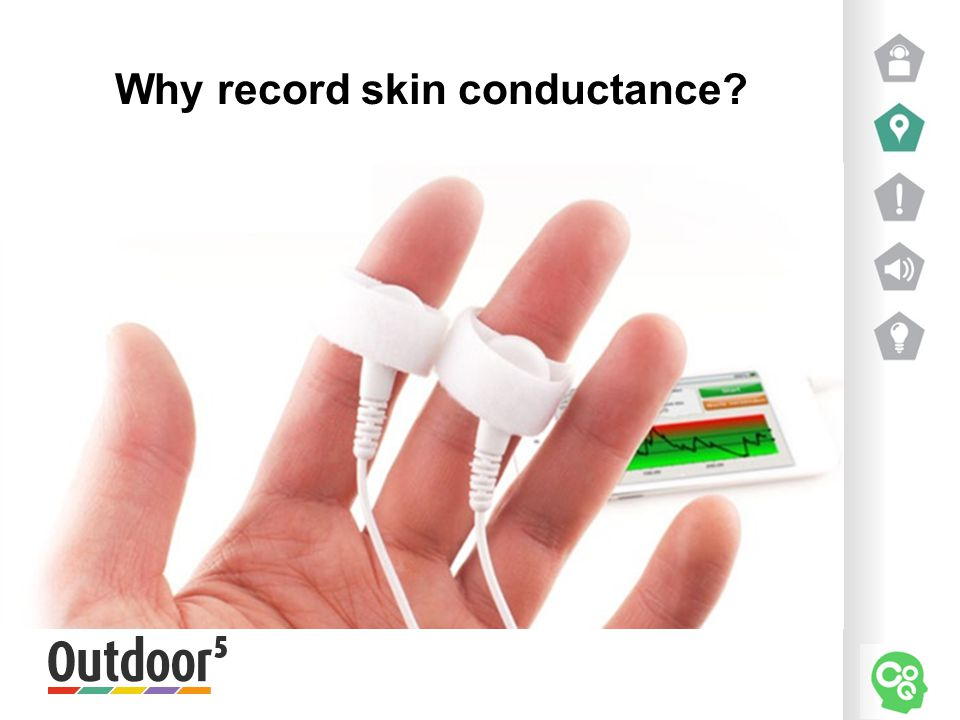Why record skin conductance