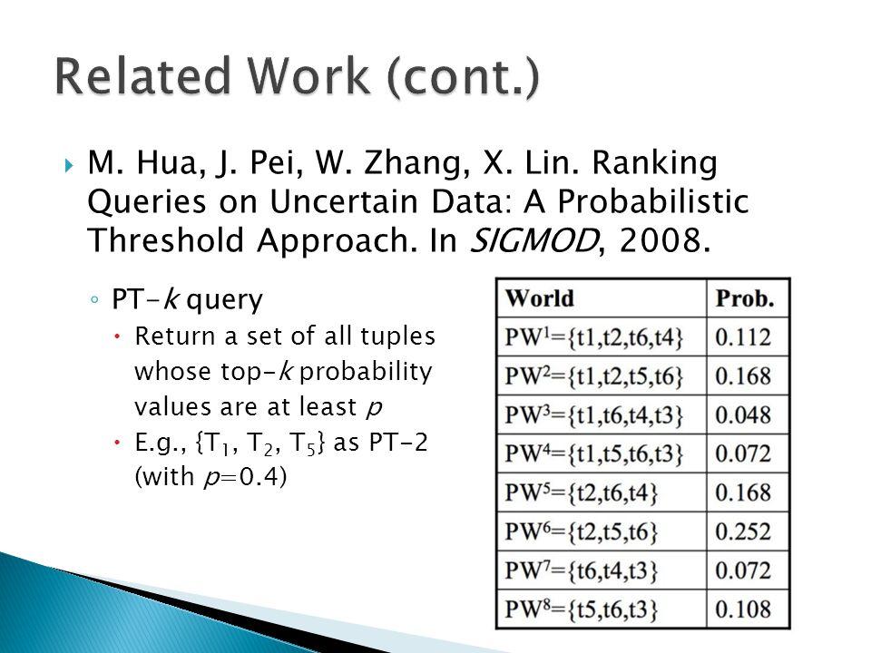  M.Hua, J. Pei, W. Zhang, X. Lin.