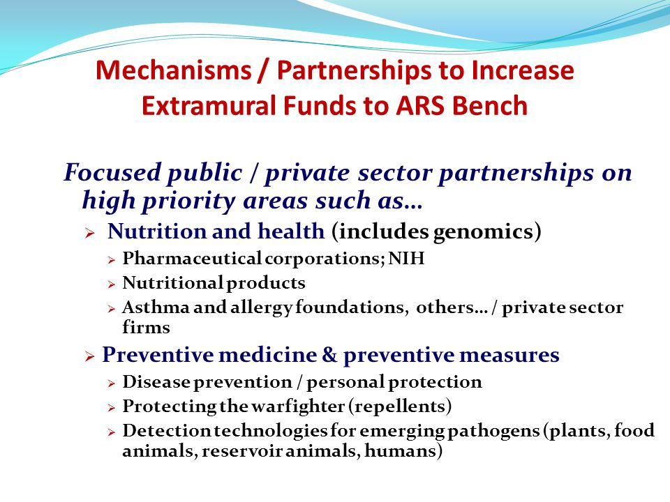 Overarching goals of Partnership Initiative: 1.