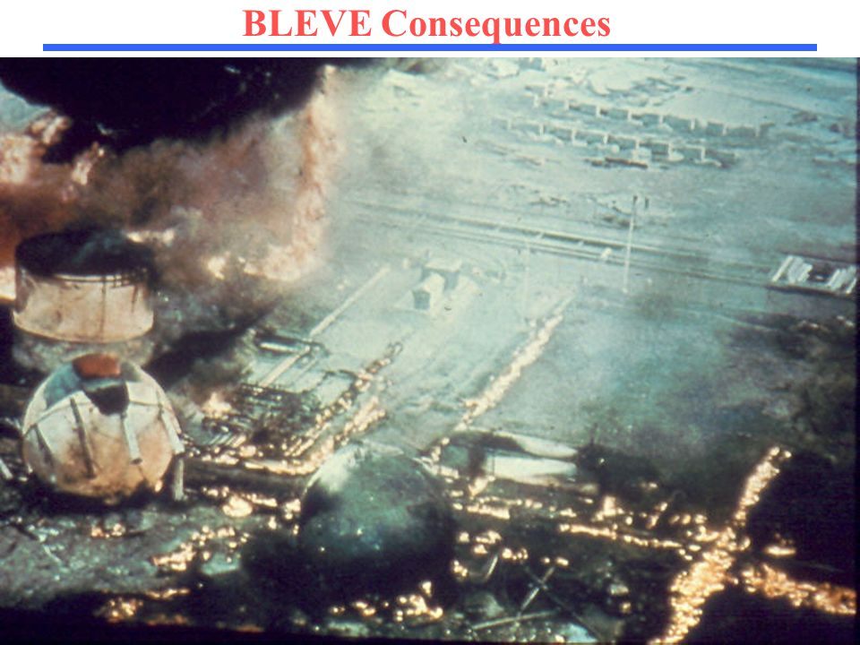 87 BLEVE Consequences