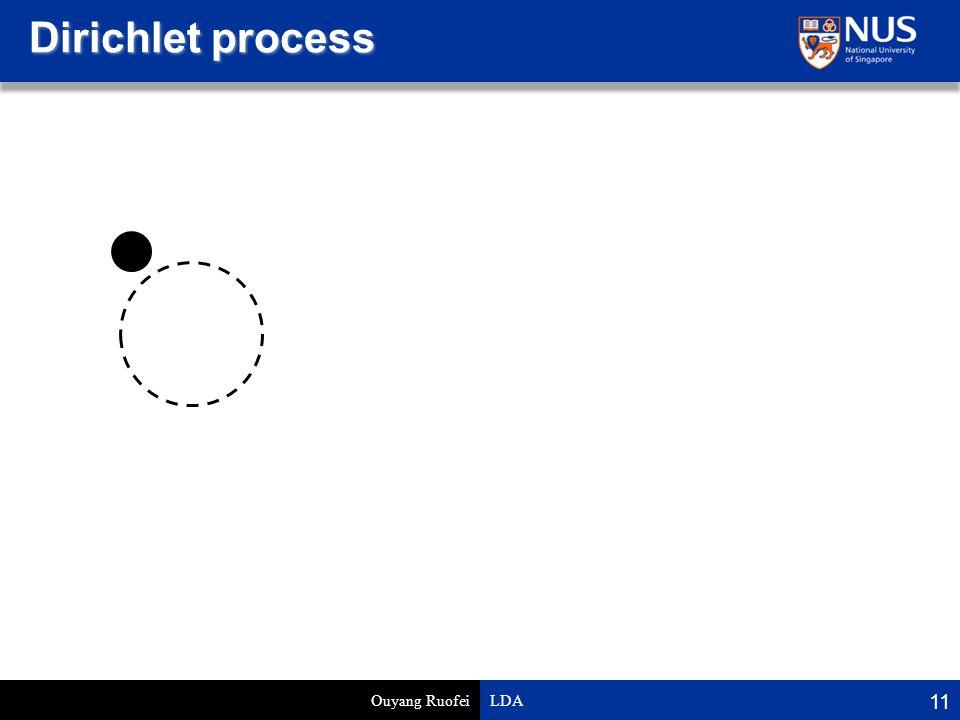 Dirichlet process Ouyang Ruofei LDA 11