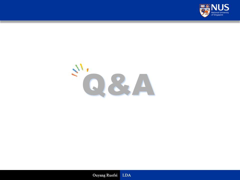 Q&A Ouyang Ruofei LDA
