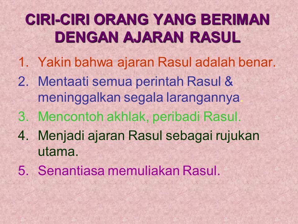 a.Menyeru manusia mentauhidkan Allah.b.Membawa ajaran agama yg benar&diridhai Allah yaitu Islam.