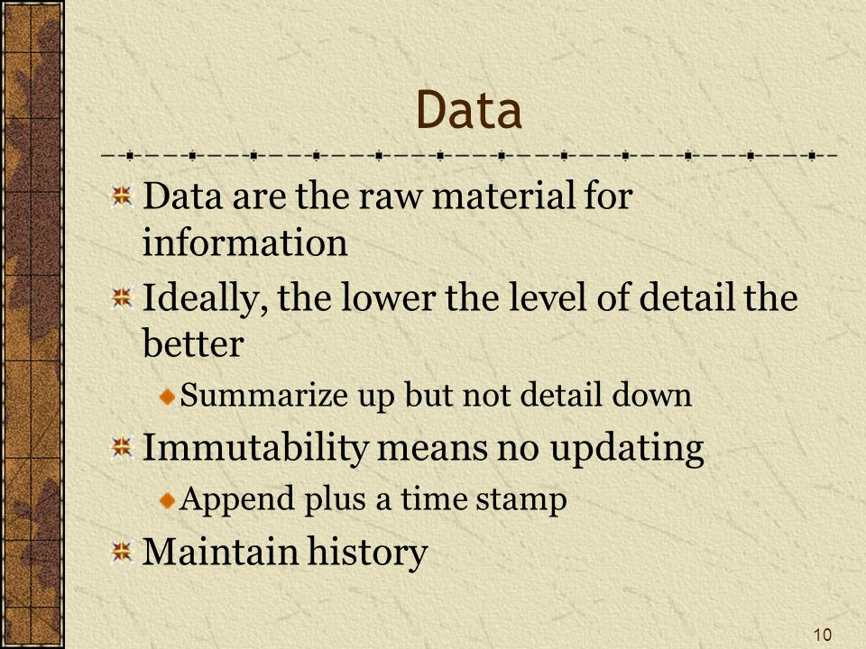 Data types Structured Unstructured Can structure with some effort 11