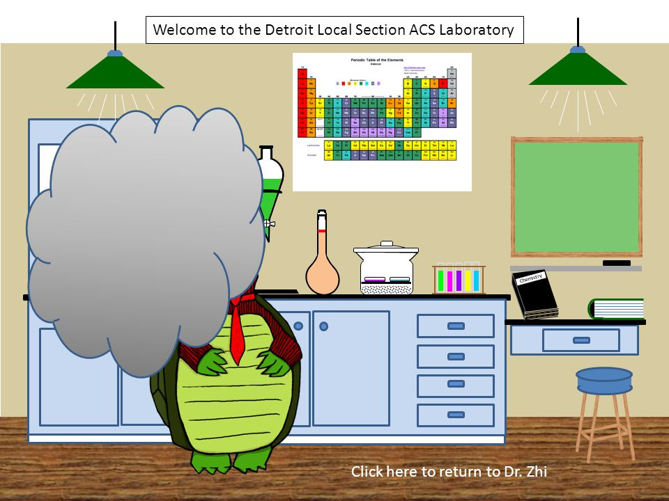 Chemistry Welcome to the Detroit Local Section ACS Laboratory Click here to return to Dr. Zhi