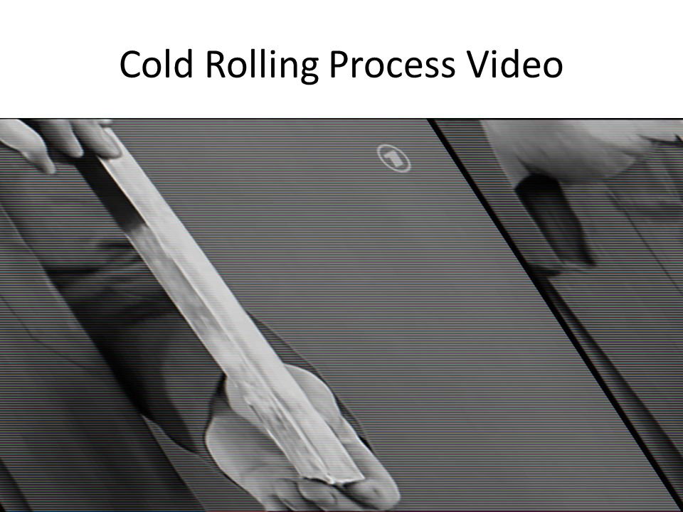 Cold Rolling Process Video