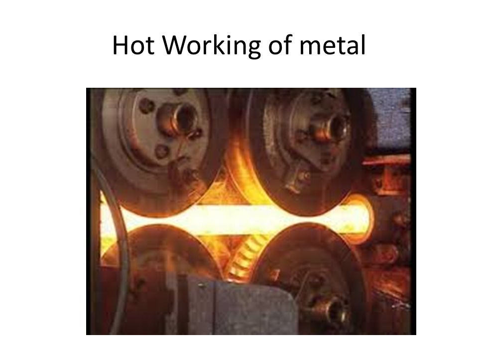 Definition It can be defined as the plastic deformation of metals and alloys at a temperature above recrystallisation and below melting point such that fine refined grain is obtained.