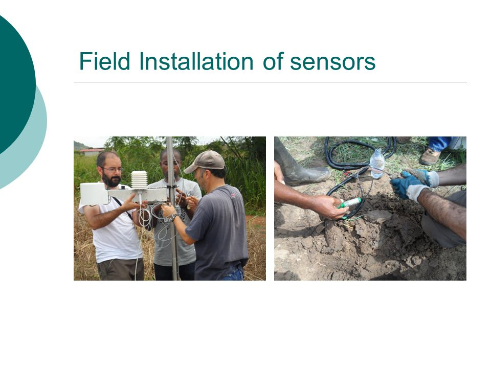 Field Installation of sensors