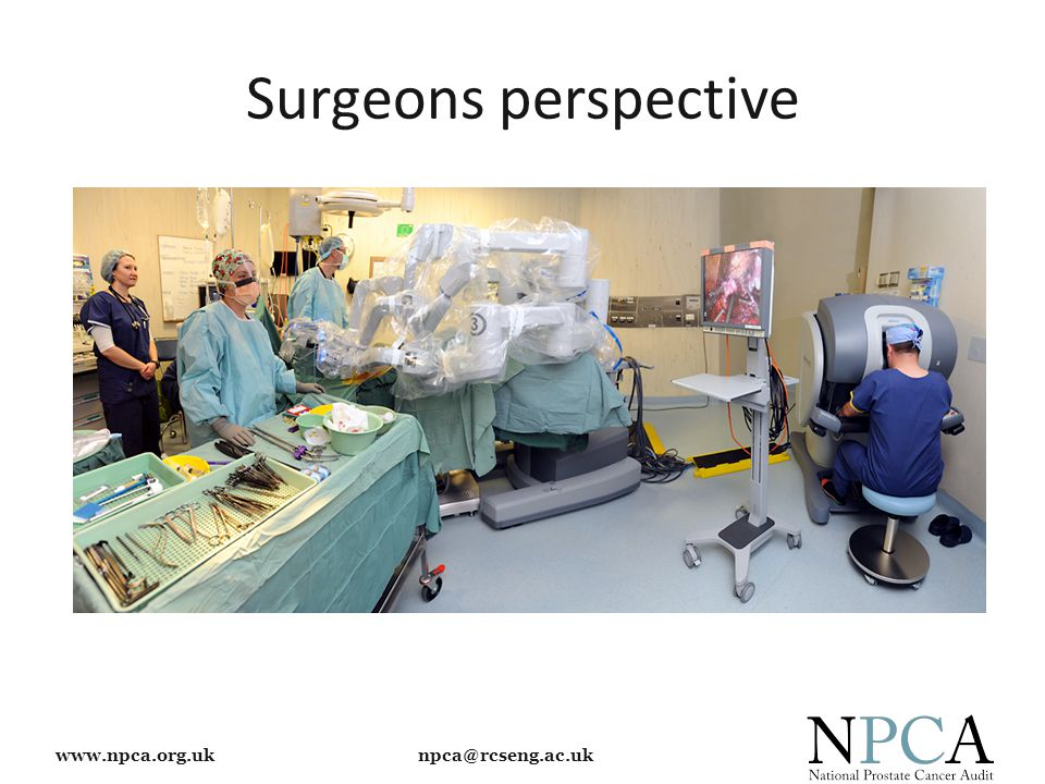 www.npca.org.uk npca@rcseng.ac.uk Surgeons perspective