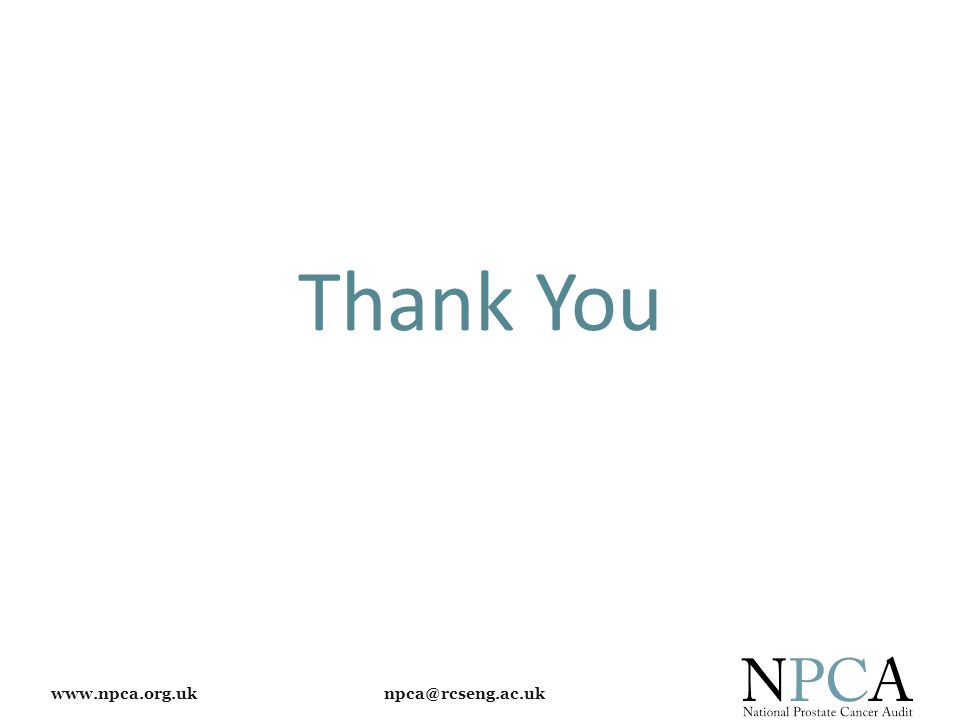 www.npca.org.uk npca@rcseng.ac.uk Thank You