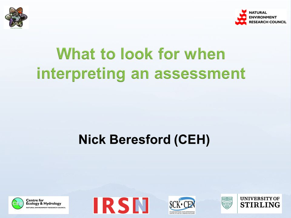  Give an overview of what may impact on assessment results using the available approaches  In part based on things we know are being done  Consider chronology of development, misuse of default values, double accounting, screening tier application  Not considering dispersion modelling and sampling strategies www.ceh.ac.uk/PROTECT