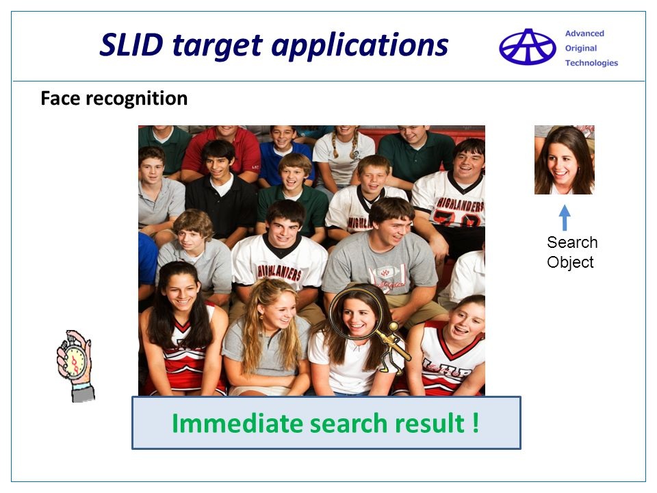 SLID Key benefits - Detects immediately address of red bodies. - Size and form can be instantly recognized 4) Edge Detection => It's possible to look