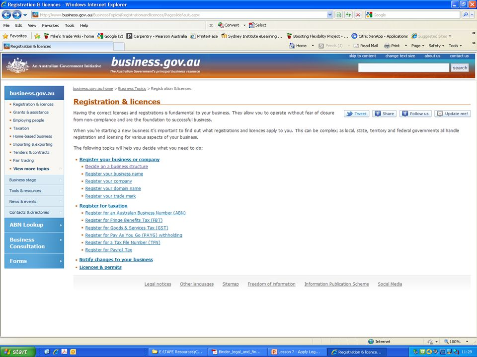 NSW Office of Fair Trading http://www.fairtrading.nsw.