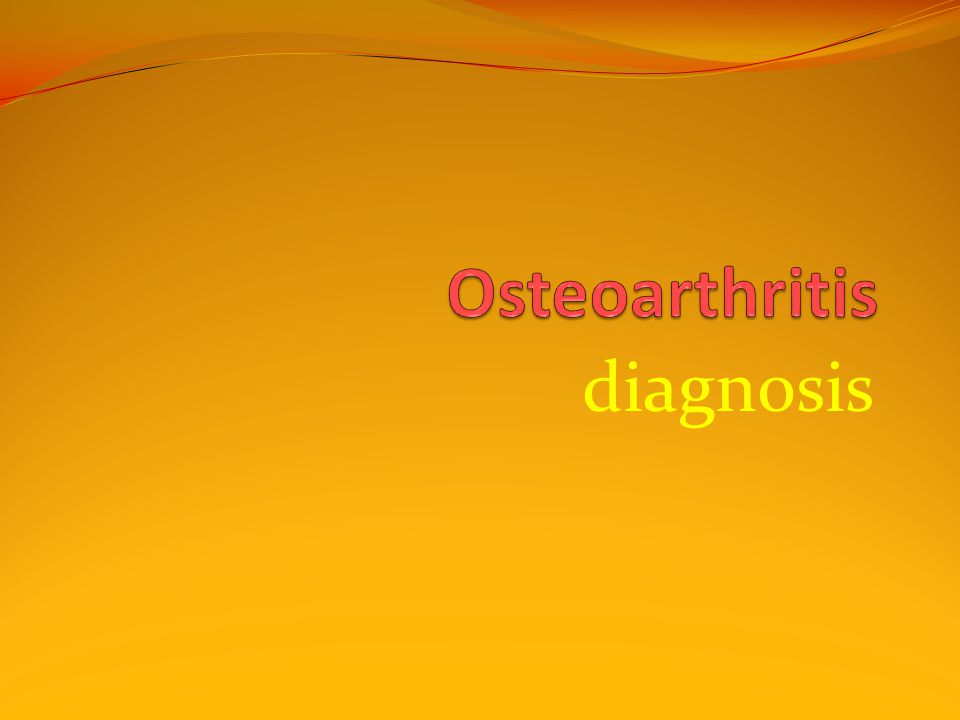 Although OA is present by histologic or radiographic criteria in nearly 80% of people by the age of 80 years, at any age only half have symptoms.