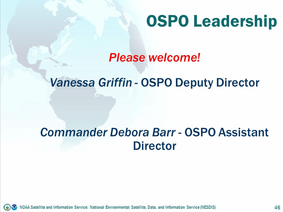 OSPO Leadership Please welcome.