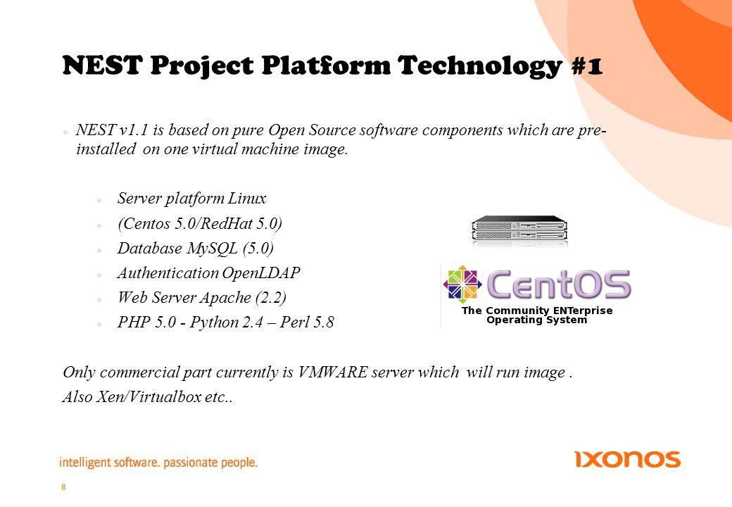 9 NEST Project Platform Technology #2 Virtualization platform provides service power in efficient way.