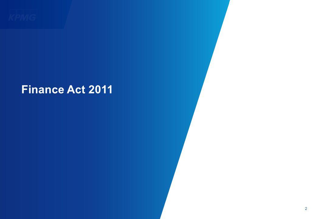 2 Finance Act 2011