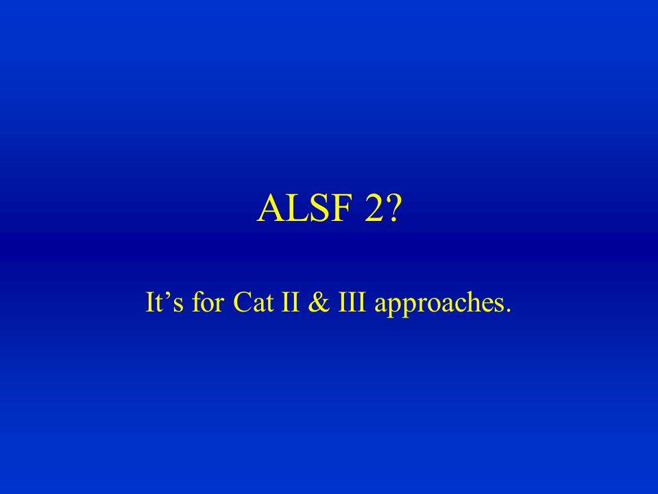 A ALSF - 2