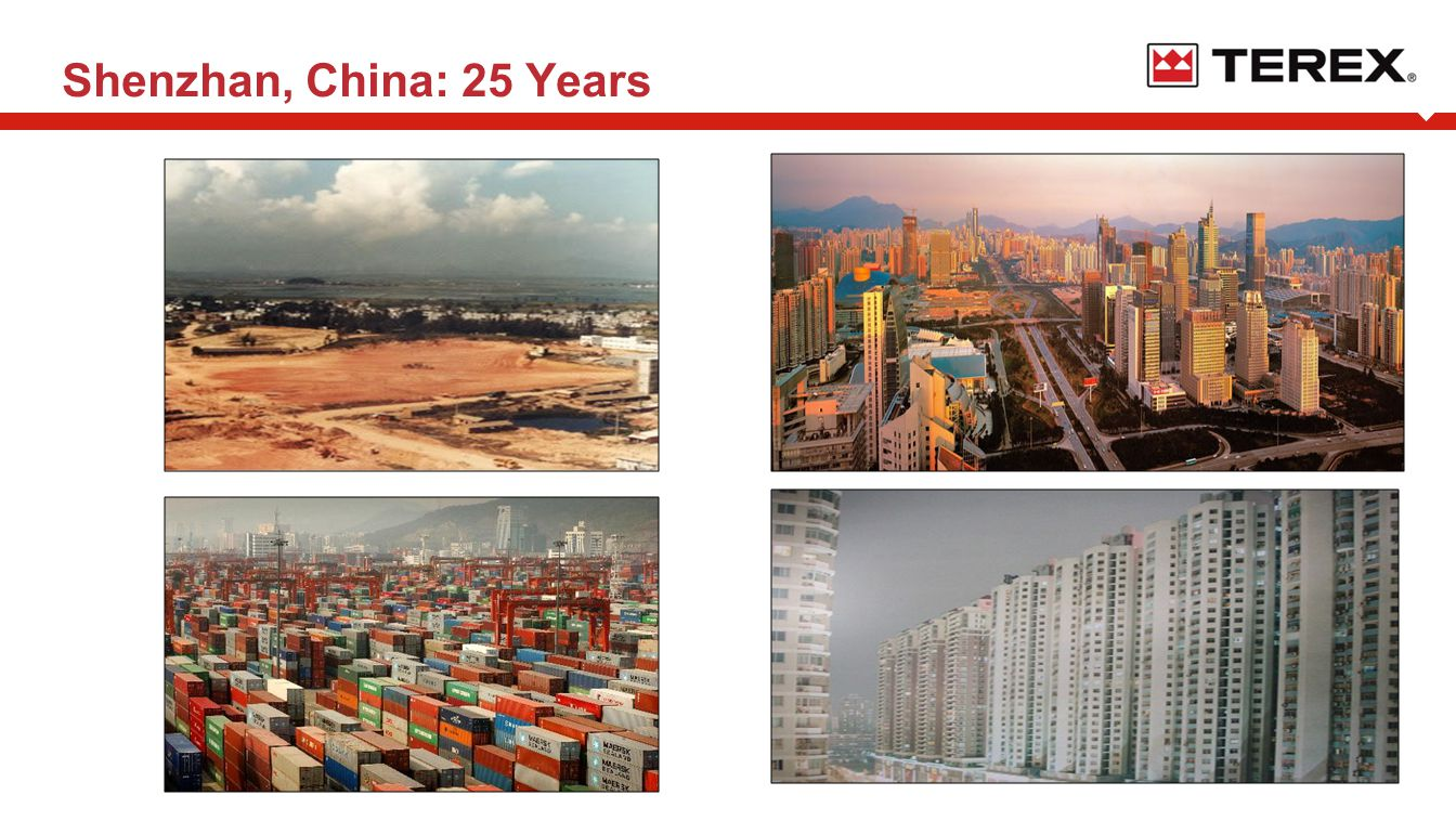 AaAa …and Today Shenzhan, China: 25 Years
