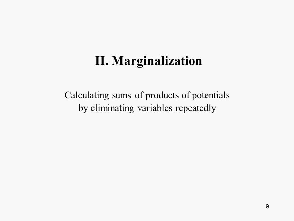 10 Marginal Probabilities A B A1A2P(B) B1p1p2 p1+p2 P(B1) B2p3p4 p3+p4 P(B2) P(A) p1+p3 P(A1) p2+p4 P(A2) Joint Probabilities