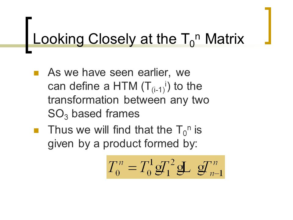 LP Table: FramesLinkVar  da  S  C  S  C  0  11R 11 00-90  0S1C1 1  22R 22 600 01S2C2 2  33R 33 0.5090  10S3C3 3  44P00 d 4 + 4.25000 01S4C4 4  n5R 55 1000 01S5C5 Depends on Location of n(end)-frame!