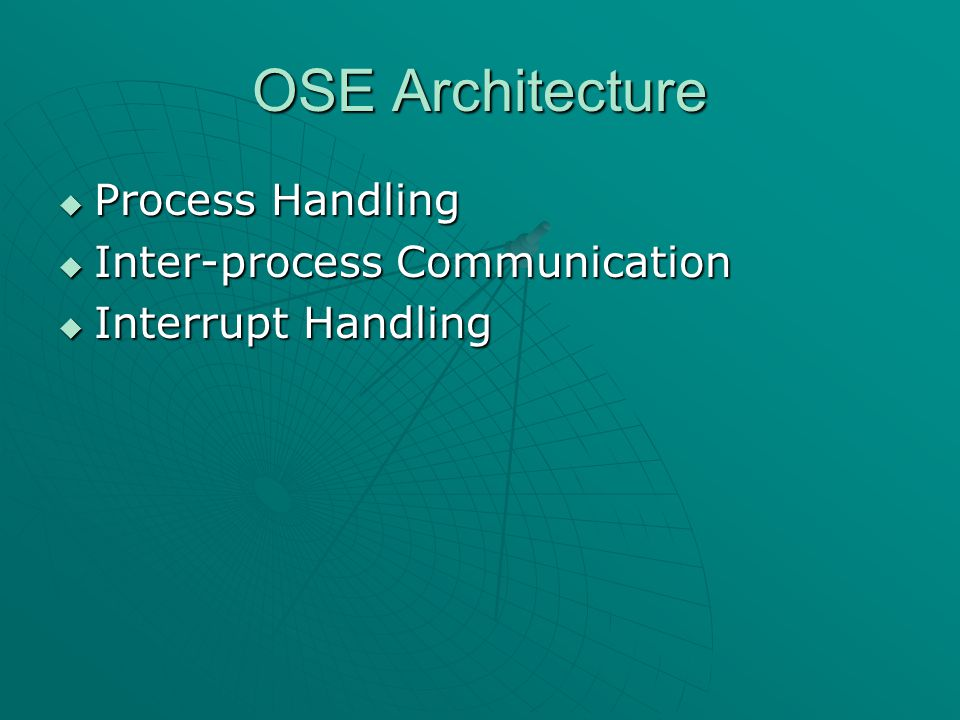 Interrupt Handling  Interrupts are special events that need to be processed ASAP.