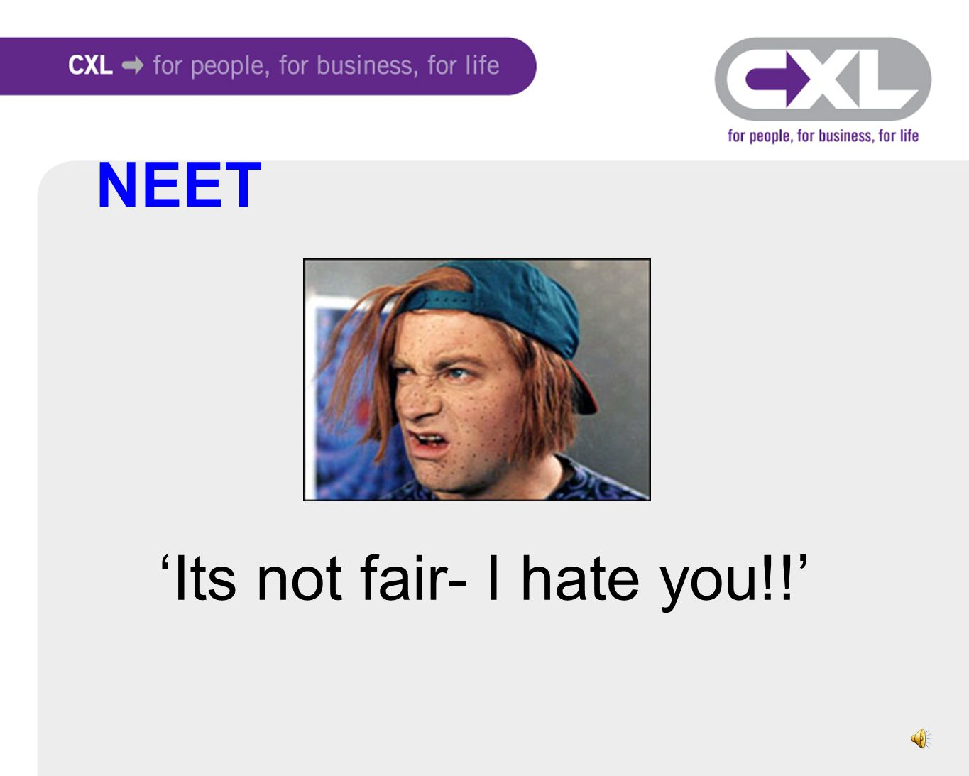 'Its not fair- I hate you!!' NEET