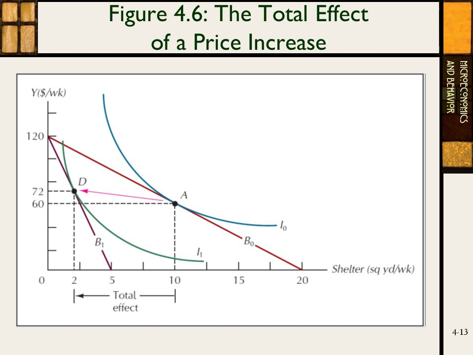 4-13 Figure 4.6: The Total Effect of a Price Increase