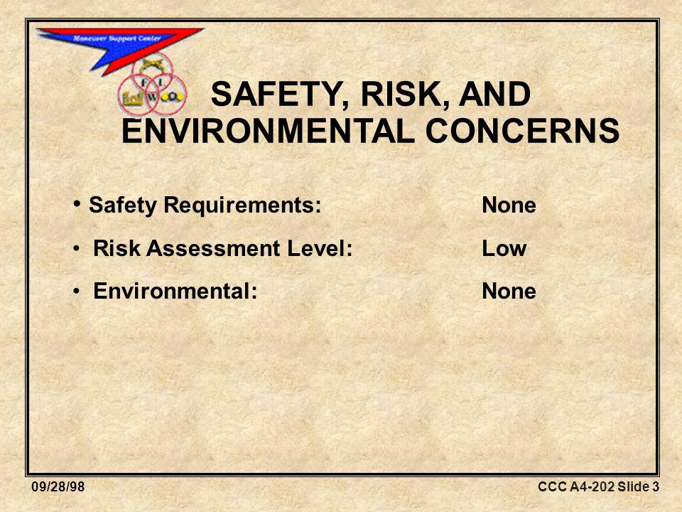 CCC A4-202 Slide 1409/28/98 MOTOR EFFICIENCY DEVELOPMENT Coordination.