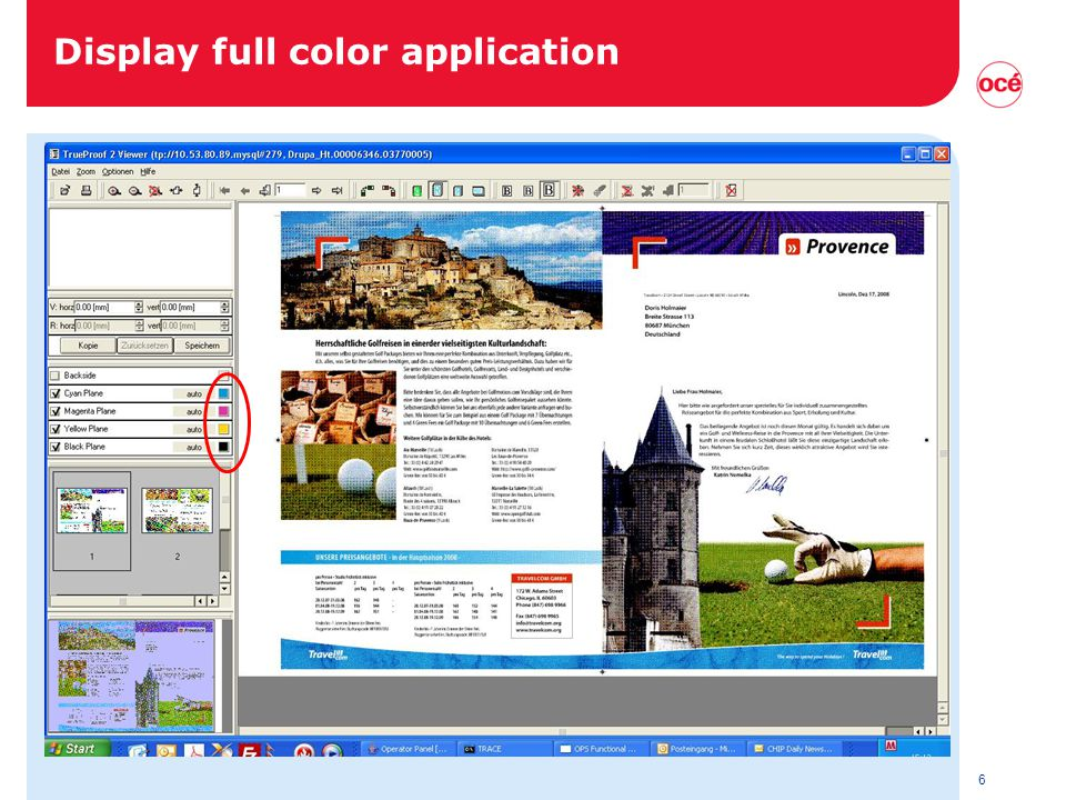 6 Display full color application