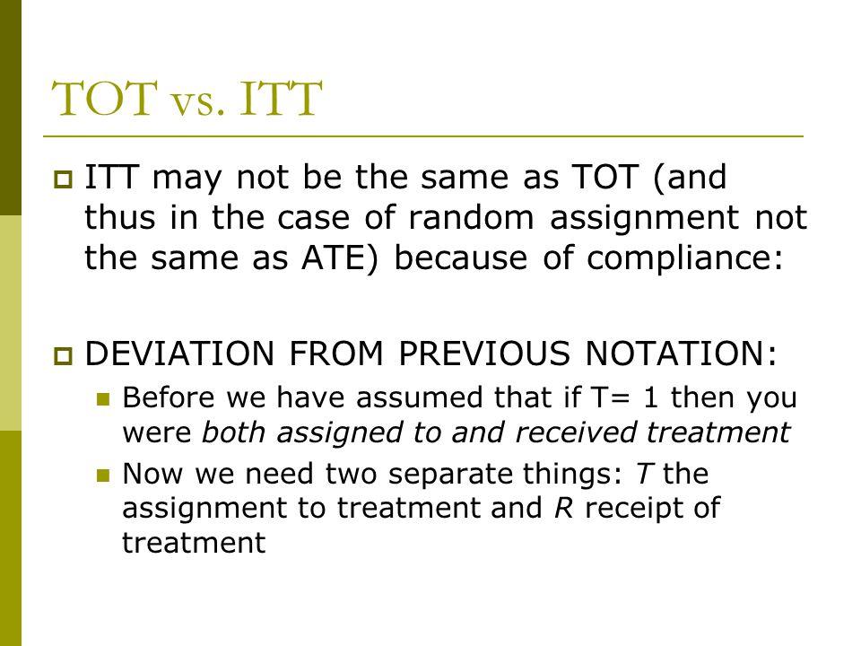 TOT vs.