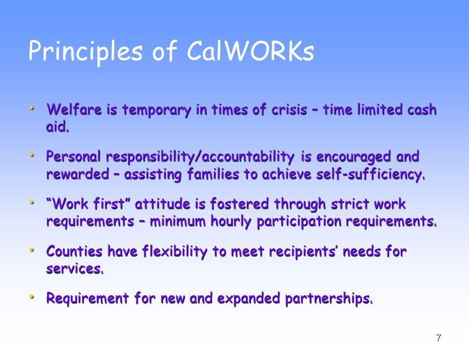 8 CalWORKs Caseload and Funding  Total caseload = 534,043  Total Budget = $7.2 billion