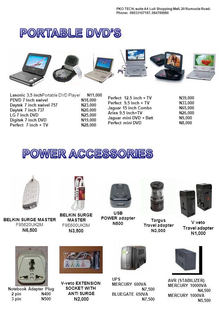 Creative SBS380 Multimedia Speaker N 7, 000 Mercury iXA 370 Subwoofer Multimedia speakers N 10, 000 EDIFIER R401 Multimedia Speaker Subwoofer & Amplifier N 14, 000 PKO TECH, suite A4 Luli Shopping Mall, 20 Rumuola Road.